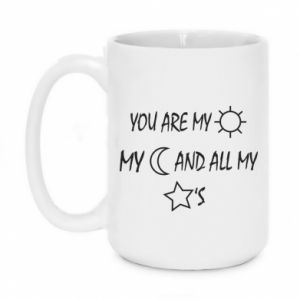 Kubek 450ml You are my sun, my moon and all my stars