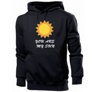Men's hoodie You are my sun