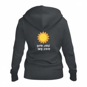 Damska bluza na zamek You are my sun