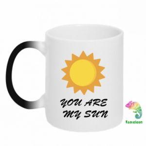 Kubek-kameleon You are my sun