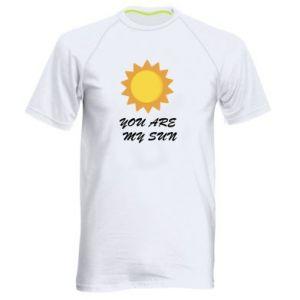 Męska koszulka sportowa You are my sun