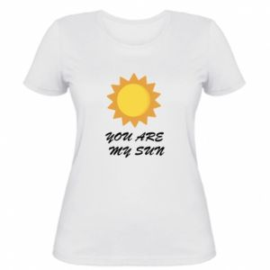 Damska koszulka You are my sun