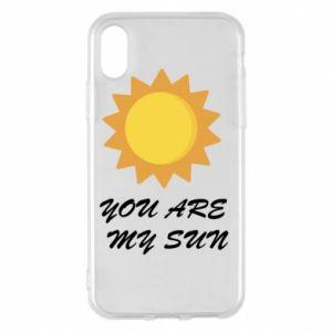 Etui na iPhone X/Xs You are my sun