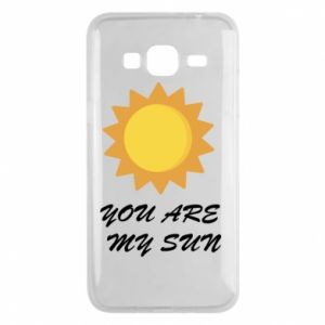 Phone case for Samsung J3 2016 You are my sun