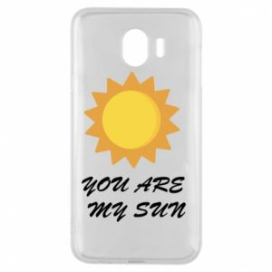 Phone case for Samsung J4 You are my sun