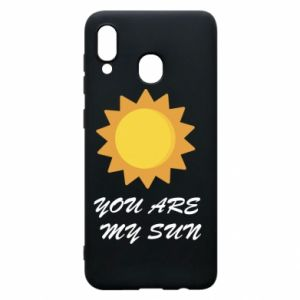 Phone case for Samsung A20 You are my sun