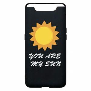 Etui na Samsung A80 You are my sun