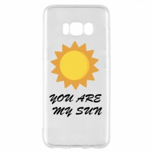 Etui na Samsung S8 You are my sun