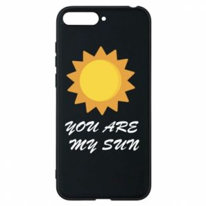 Phone case for Huawei Y6 2018 You are my sun
