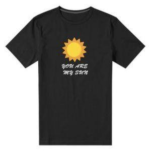 Męska premium koszulka You are my sun