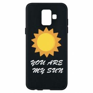 Etui na Samsung A6 2018 You are my sun