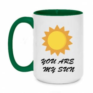 Two-toned mug 450ml You are my sun