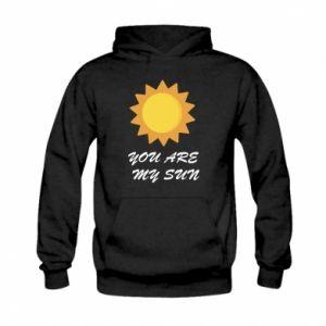 Kid's hoodie You are my sun