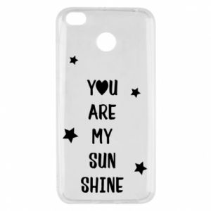 Xiaomi Redmi 4X Case You are my sunshine