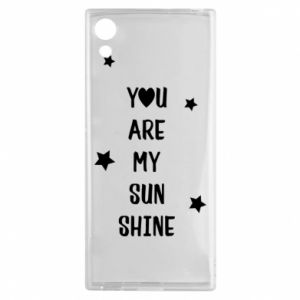 Sony Xperia XA1 Case You are my sunshine