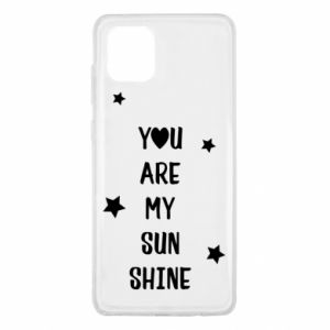 Samsung Note 10 Lite Case You are my sunshine