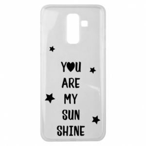 Samsung J8 2018 Case You are my sunshine