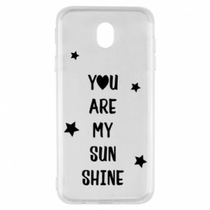 Samsung J7 2017 Case You are my sunshine