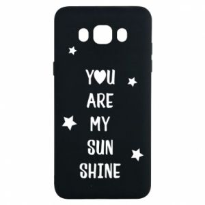 Samsung J7 2016 Case You are my sunshine