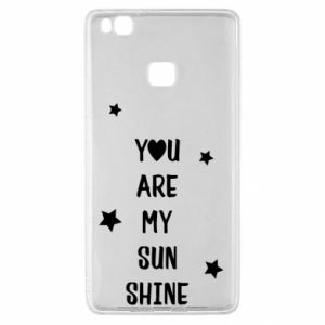 Huawei P9 Lite Case You are my sunshine
