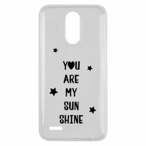 Lg K10 2017 Case You are my sunshine