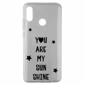 Huawei Honor 10 Lite Case You are my sunshine
