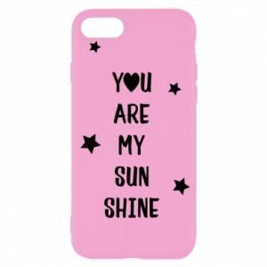 iPhone SE 2020 Case You are my sunshine