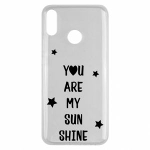 Huawei Y9 2019 Case You are my sunshine