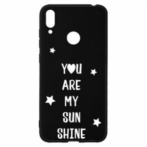 Etui na Huawei Y7 2019 You are my sunshine