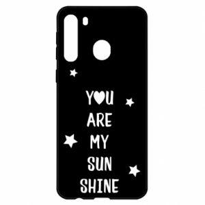 Etui na Samsung A21 You are my sunshine