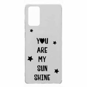 Etui na Samsung Note 20 You are my sunshine