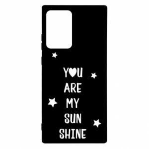 Etui na Samsung Note 20 Ultra You are my sunshine