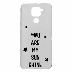 Etui na Xiaomi Redmi Note 9/Redmi 10X You are my sunshine