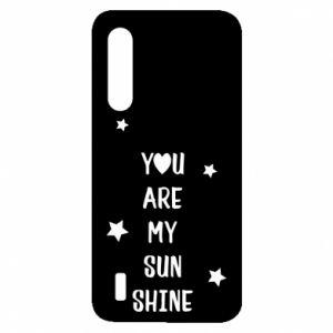 Etui na Xiaomi Mi9 Lite You are my sunshine