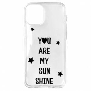 Etui na iPhone 12 Mini You are my sunshine