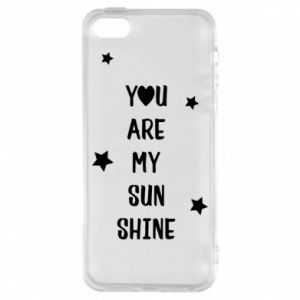 iPhone 5/5S/SE Case You are my sunshine