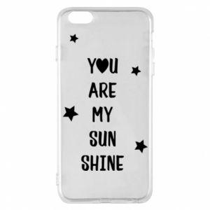 Etui na iPhone 6 Plus/6S Plus You are my sunshine