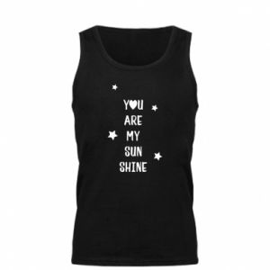 Men's t-shirt You are my sunshine
