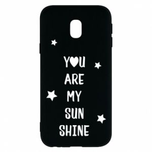 Samsung J3 2017 Case You are my sunshine