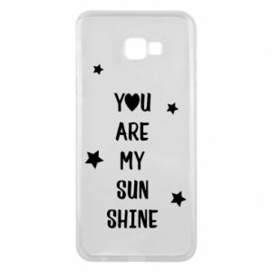 Etui na Samsung J4 Plus 2018 You are my sunshine