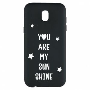 Etui na Samsung J5 2017 You are my sunshine