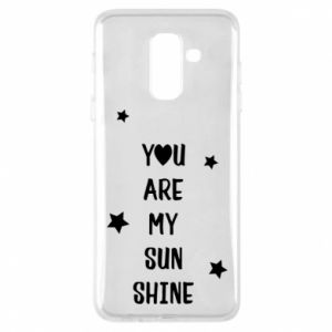 Etui na Samsung A6+ 2018 You are my sunshine