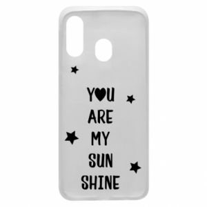 Etui na Samsung A40 You are my sunshine