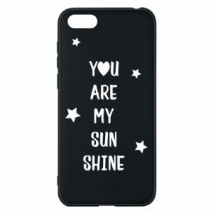 Huawei Y5 2018 Case You are my sunshine