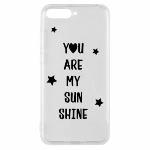 Huawei Y6 2018 Case You are my sunshine
