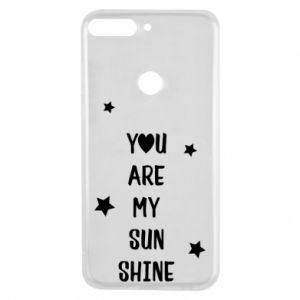 Etui na Huawei Y7 Prime 2018 You are my sunshine