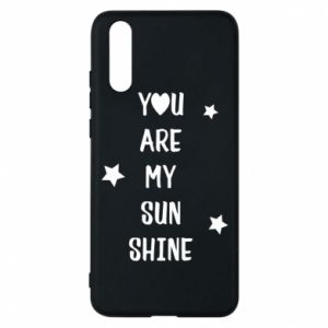Etui na Huawei P20 You are my sunshine