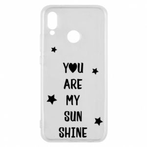 Etui na Huawei P20 Lite You are my sunshine