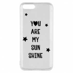 Xiaomi Mi6 Case You are my sunshine