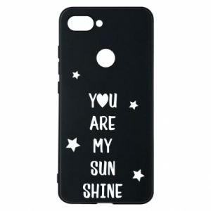 Etui na Xiaomi Mi8 Lite You are my sunshine